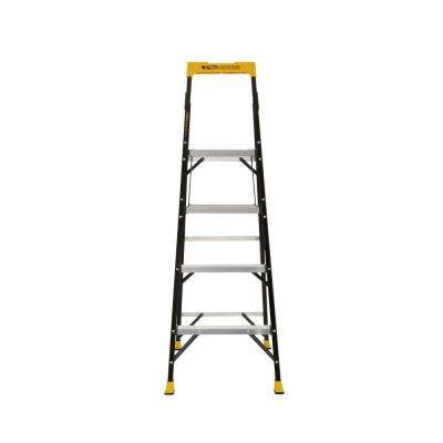 5.5 ft. Fiberglass Hybrid Ladder with 250 lbs. Load Capacity Type I Duty Rating (Comparable to 6 ft. Step Ladder)