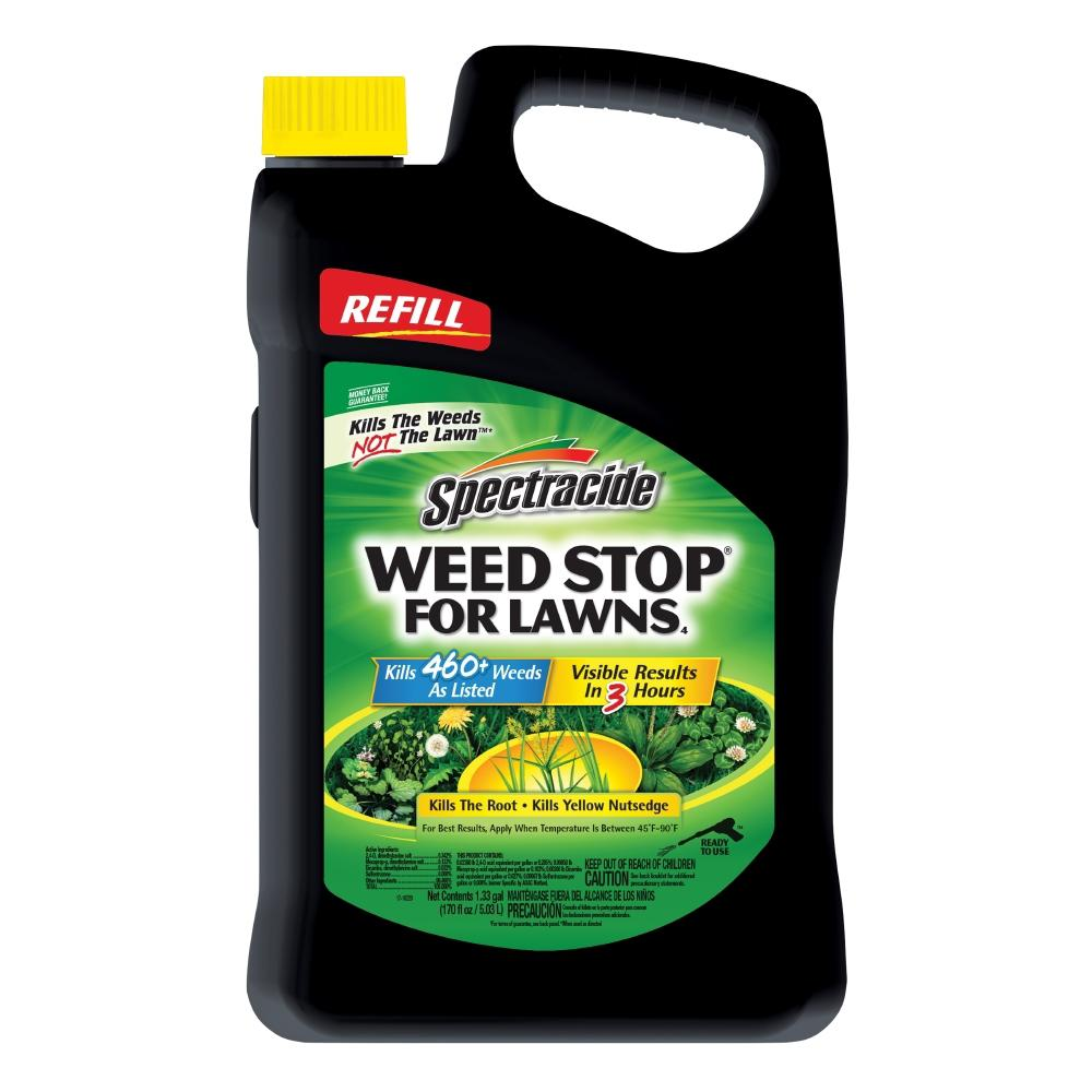 Spectracide Weed Stop for Lawns 1.33 Gal. Accushot Refill Lawn Weed Killer