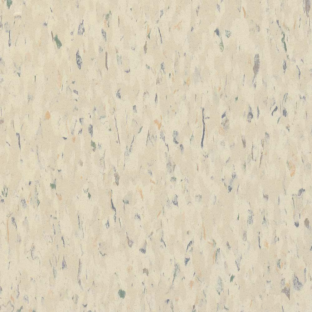 Excelon Multi 12 in. x 12 in. Faire White Vinyl Tile
