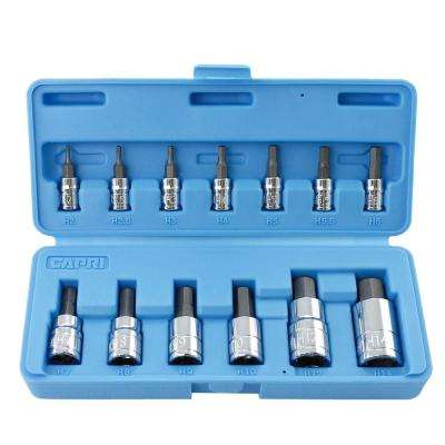 Metric Hex Bit Socket Set (13-Piece)