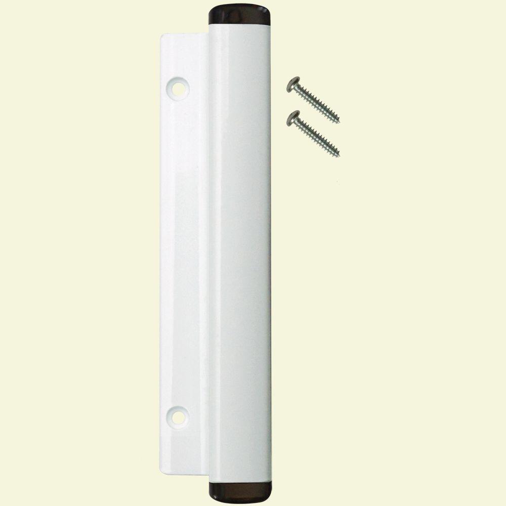 Lockit Black White Sliding Door Handle 200200100 The Home Depot