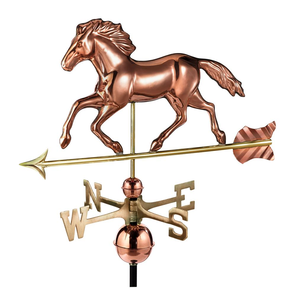 Good Directions Smithsonian Running Horse Weathervane
