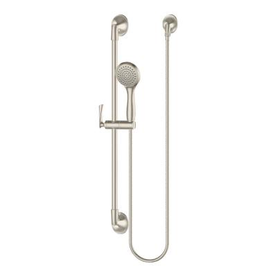 Rhen 1-Spray Slide Bar Hand Shower in Brushed Nickel