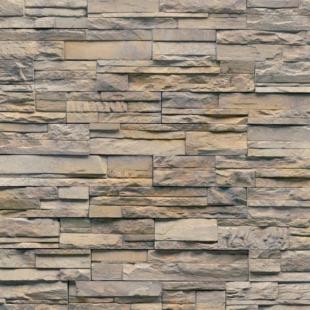 Veneerstone Imperial Stack Stone Vorago Flats 10 sq. ft. Handy Pack Manufactured Stone