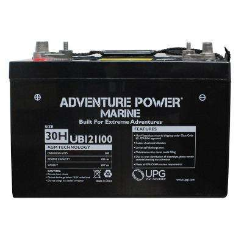 Series 30H, 12-Volt Marine Post Battery