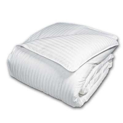 White Goose Down and Feather 50 and 50 Full and Queen Comforter
