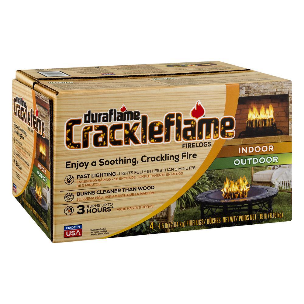 4.5 lbs. Indoor/Outdoor Firelogs