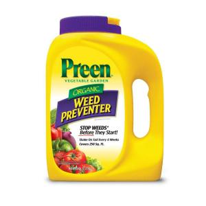 Preen 5 lb vegetable garden organic weed preventer - Weed killer safe for vegetable garden ...
