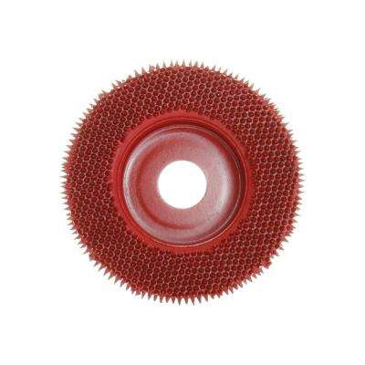 Merlin2 Medium Thick All Surface Disc in Red