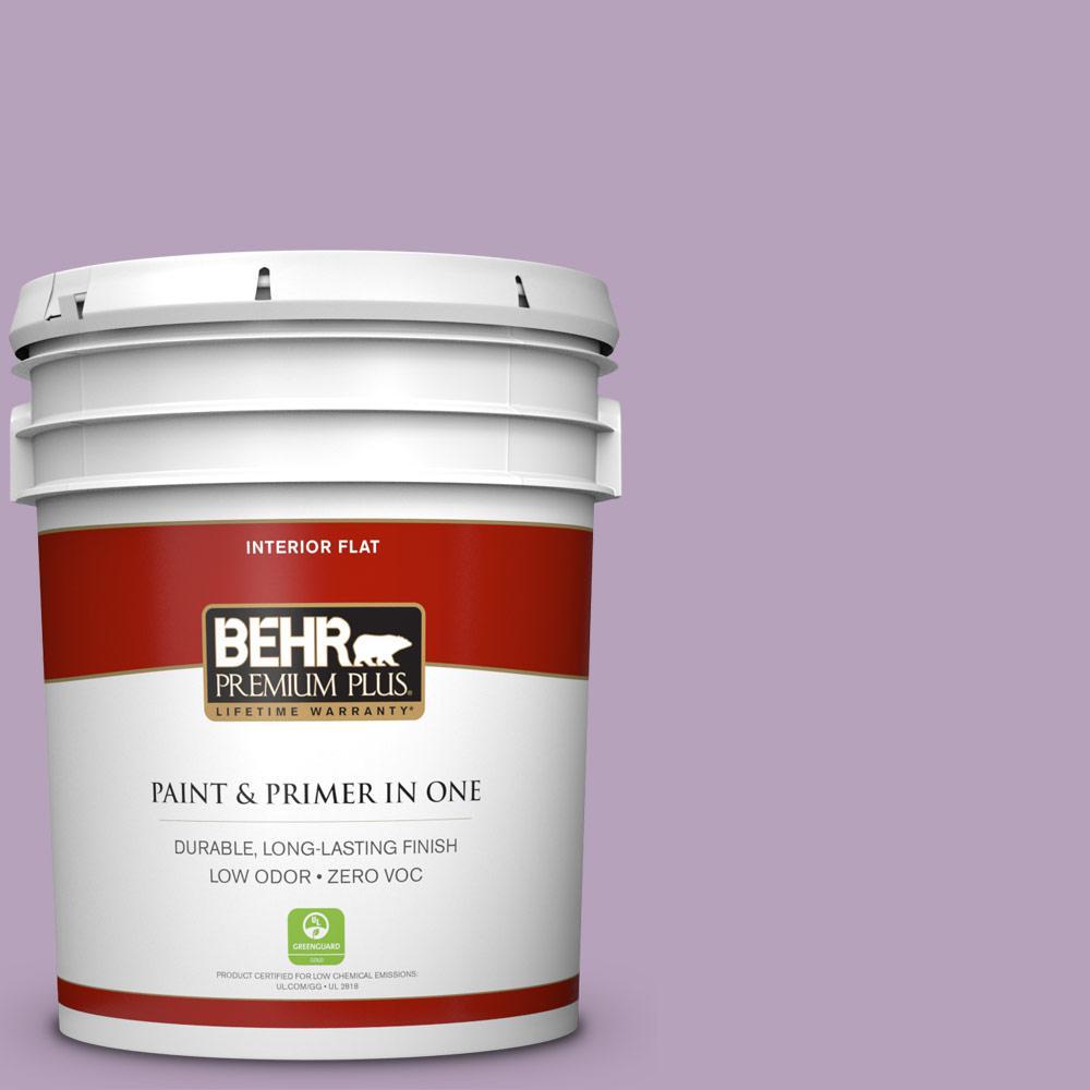 BEHR Premium Plus 5-gal. #M100-3 Svelte Flat Interior Paint