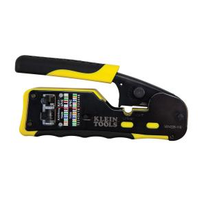 Klein Tools 6 inch Pass Thru Modular Crimper by Klein Tools