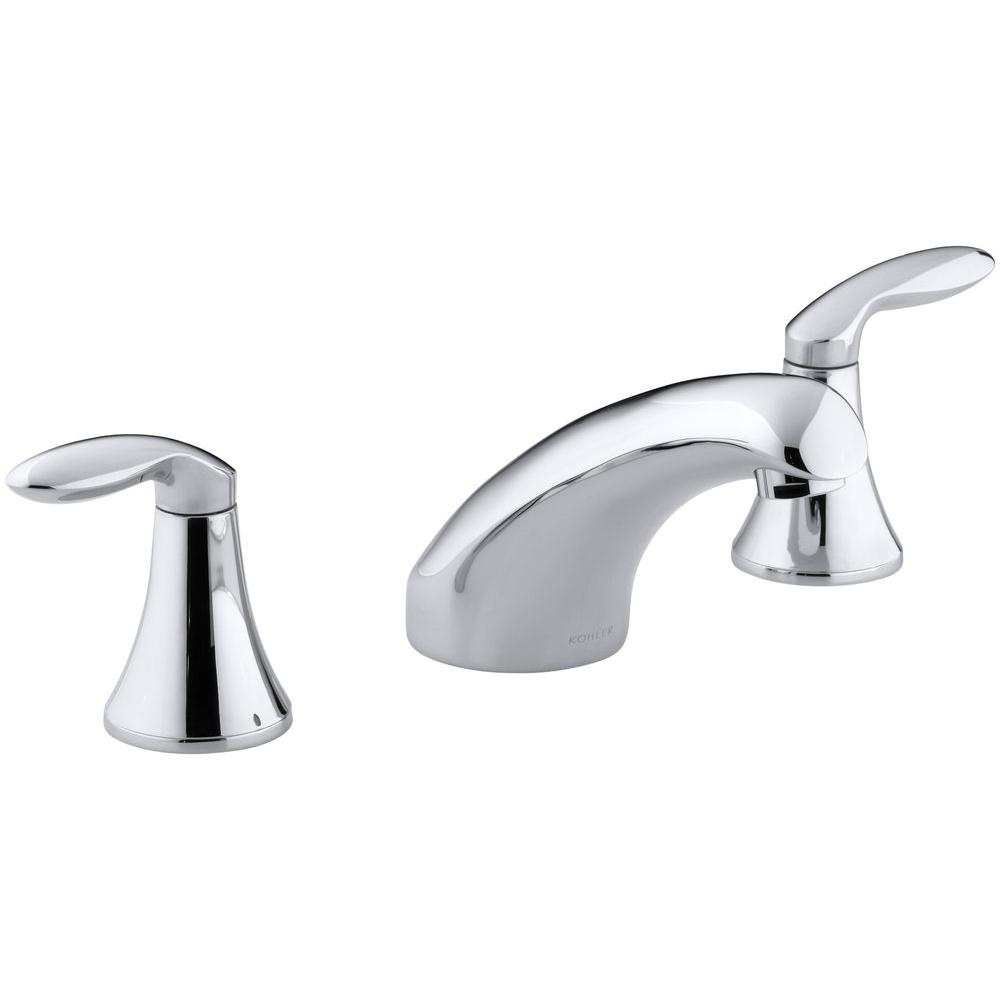 kohler roman tub faucet with hand shower. KOHLER Coralais 2 Handle Roman Tub Faucet in Polished Chrome  Valve Not Included