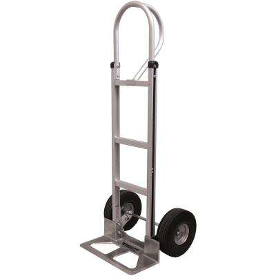660 lbs. Capacity Aluminum Hand Truck with Foam Rubber Tires