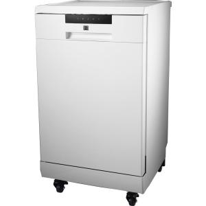 18 in. White Electronic Portable 120-volt Dishwasher with 3-Cycles with 8 Place Settings Capacity