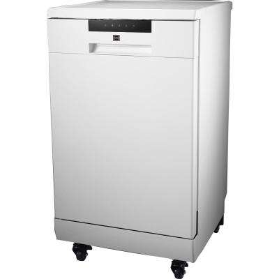 18 in. Portable Dishwasher in White with 8 Place Settings Capacity
