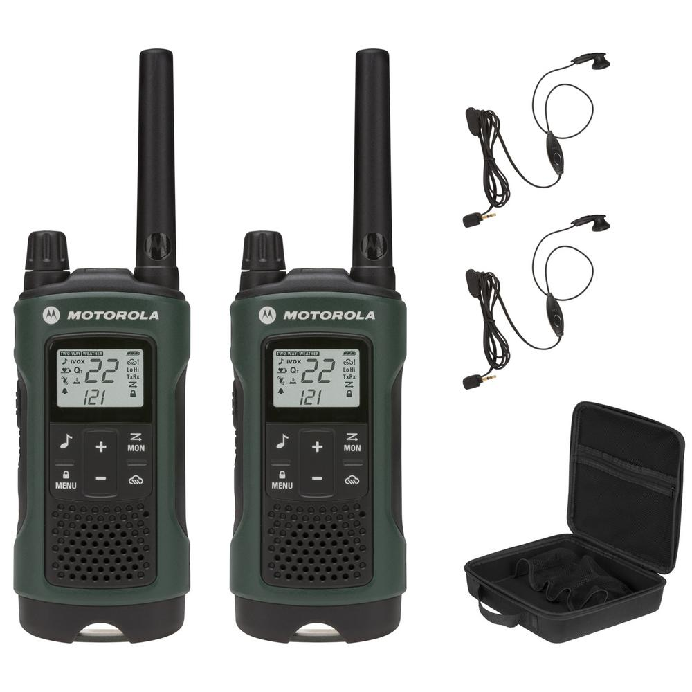 Motorola T465 FRS/Gmrs 2-Way Radios with 35 Mile Range an...