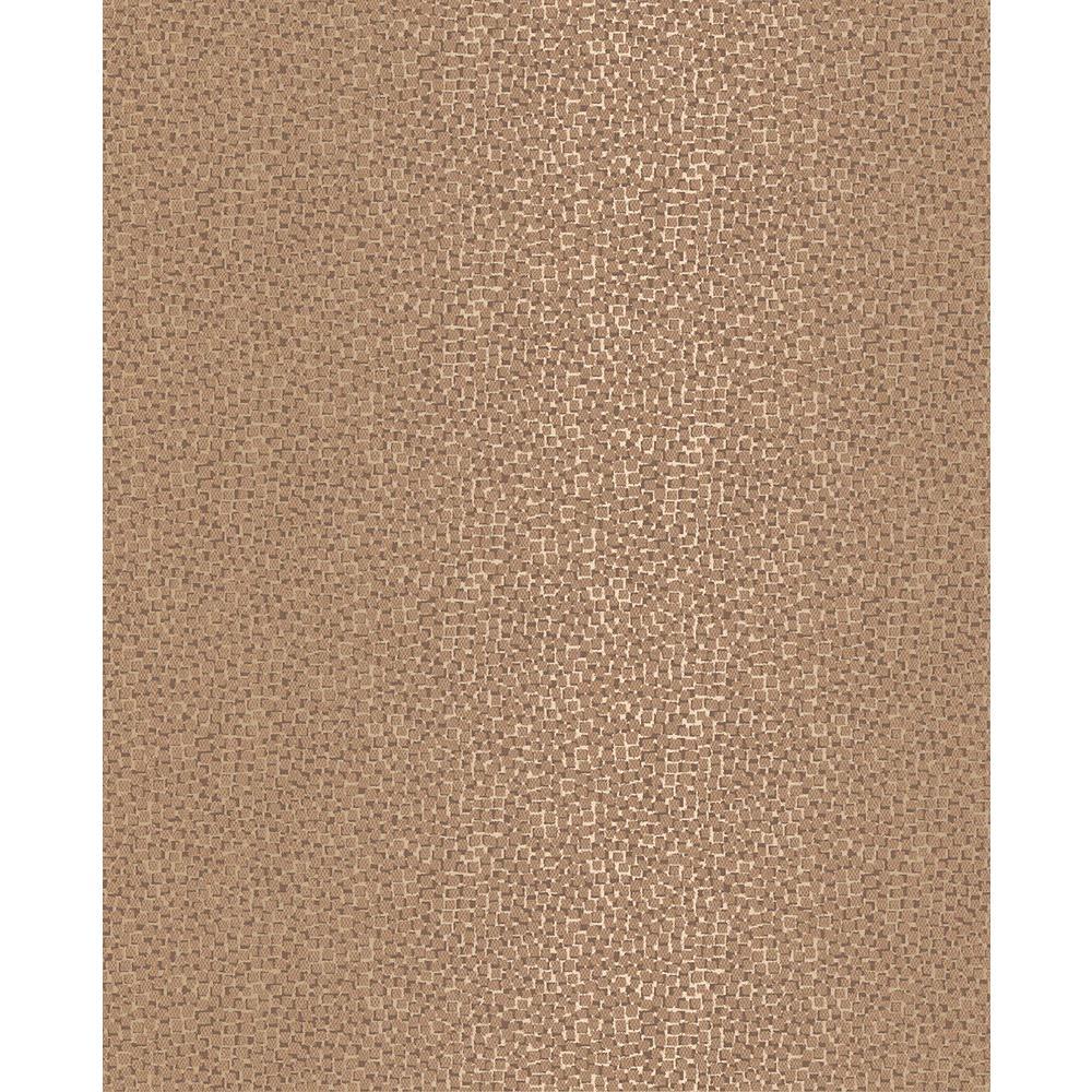 Ostinato Copper Geometric Wallpaper