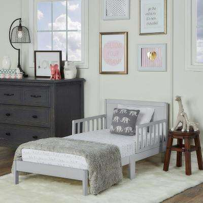 Brookside Pebble Grey Toddler Adjustable Bed
