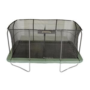 JUMPKING 10 ft. x 15 ft. Rectangular Trampoline Combo ...