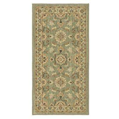 Natural Harmony Willow Grey 2 ft. x 4 ft. Area Rug
