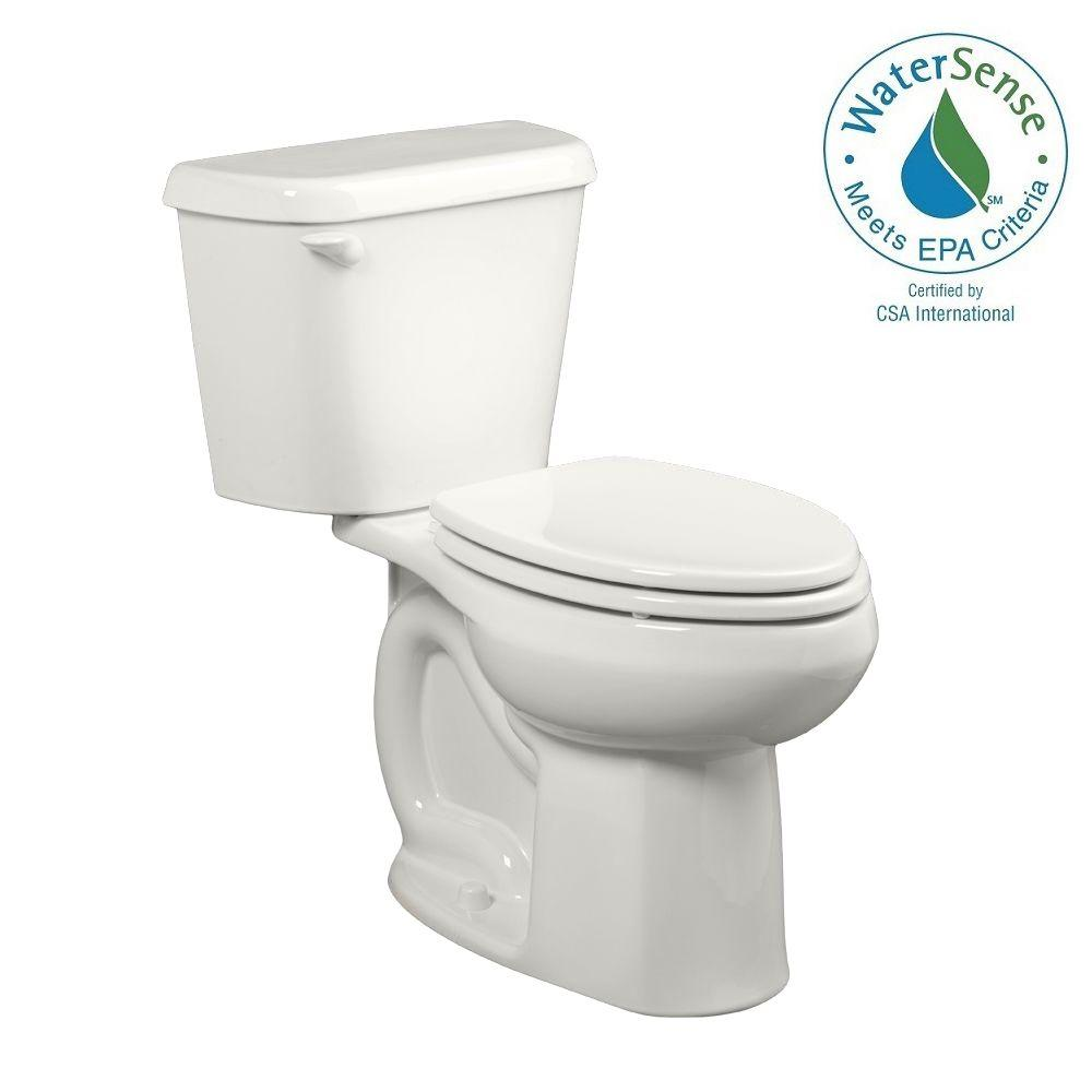 American Standard Colony 2 Piece 1 28 Gpf Single Flush Elongated Toilet In White 221ca104 020