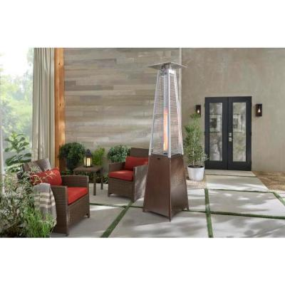 42,000 BTU Gold Gas Patio Heater