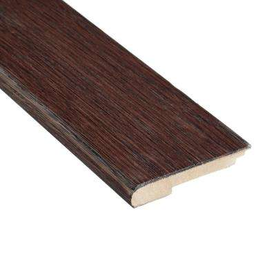 Auburn Acacia 3/8 in. Thick x 3-1/2 in. Wide x 78 in. Length Stair Nose Molding