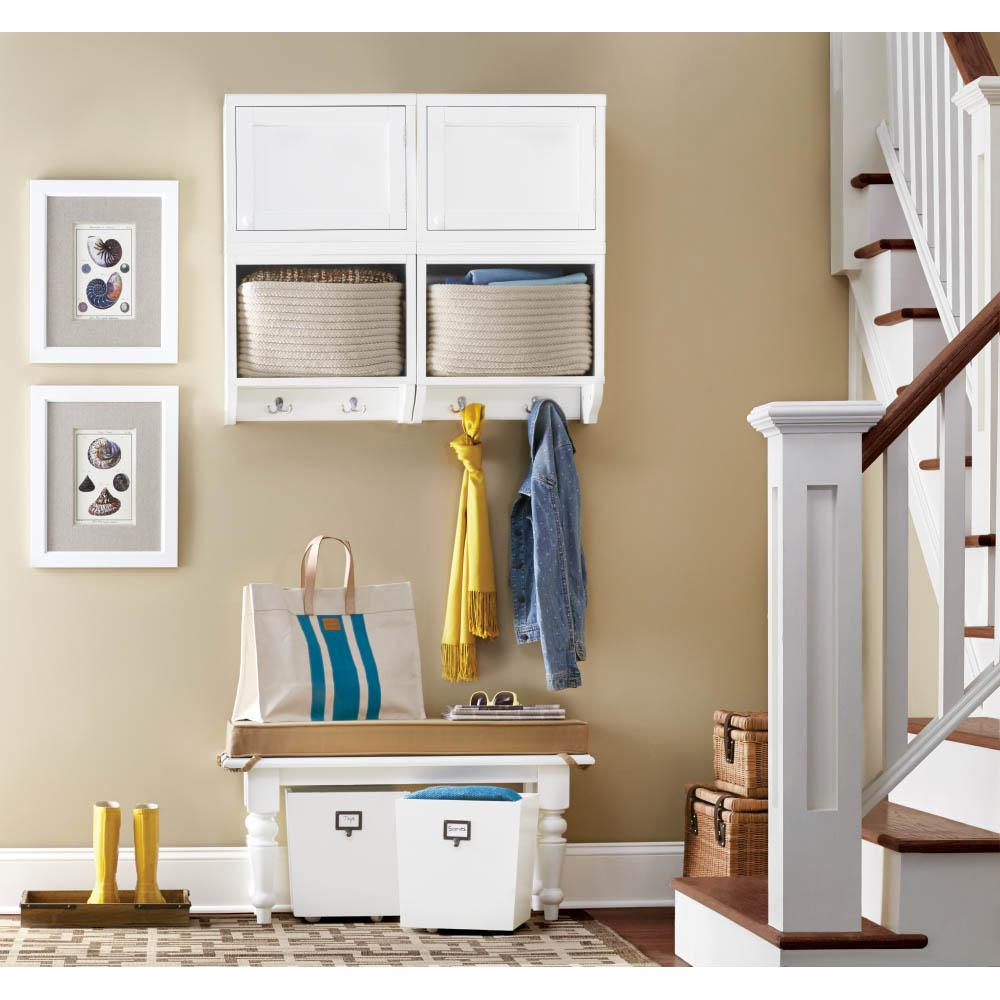 Mudroom Storage Bins : Martha stewart living mudroom gal storage bin in