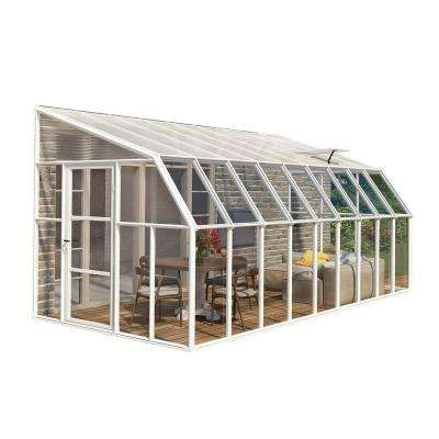 Sun Room 8 ft. x 18 ft. Clear Greenhouse