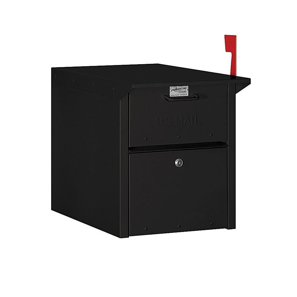 Salsbury Industries 4300 Series Mail Chest in Black