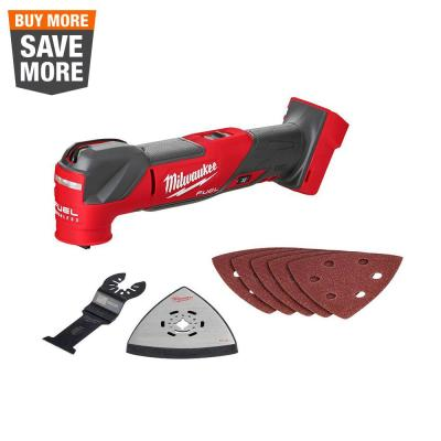 M18 FUEL 18-Volt Lithium-Ion Cordless Brushless Oscillating Multi-Tool (Tool-Only)