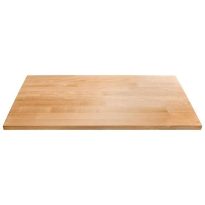 28 in. W Hardwood Worktop for Ready to Assemble Garage Cabinets
