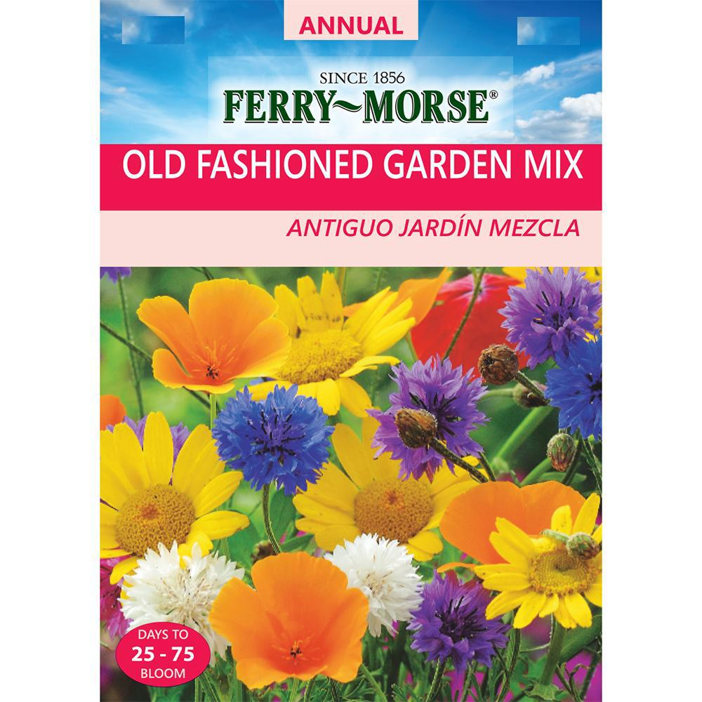 Ferry-Morse Old Fashioned Garden Mix Seed