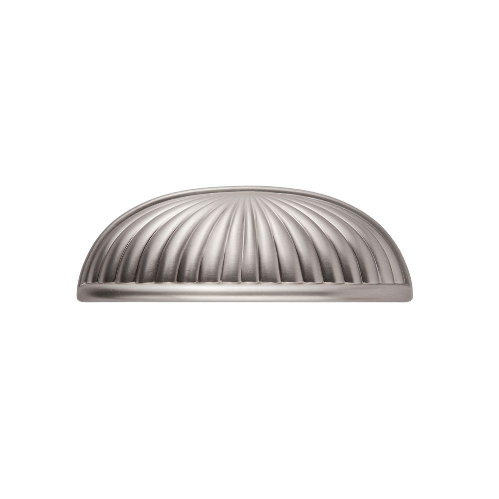 Belmont 3 in. Satin Nickel Cup Pull