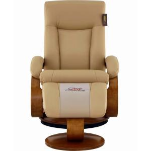 Wondrous Relax R Hamilton Cobblestone Top Grain Leather Recliner With Ncnpc Chair Design For Home Ncnpcorg