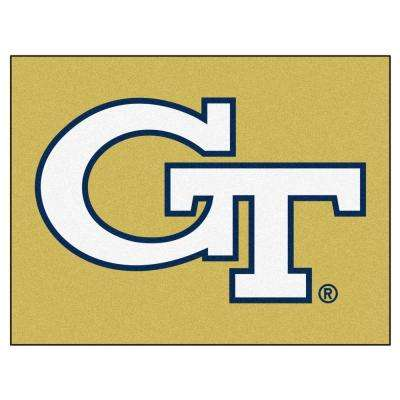 Georgia Tech 3 ft. x 4 ft. All-Star Rug