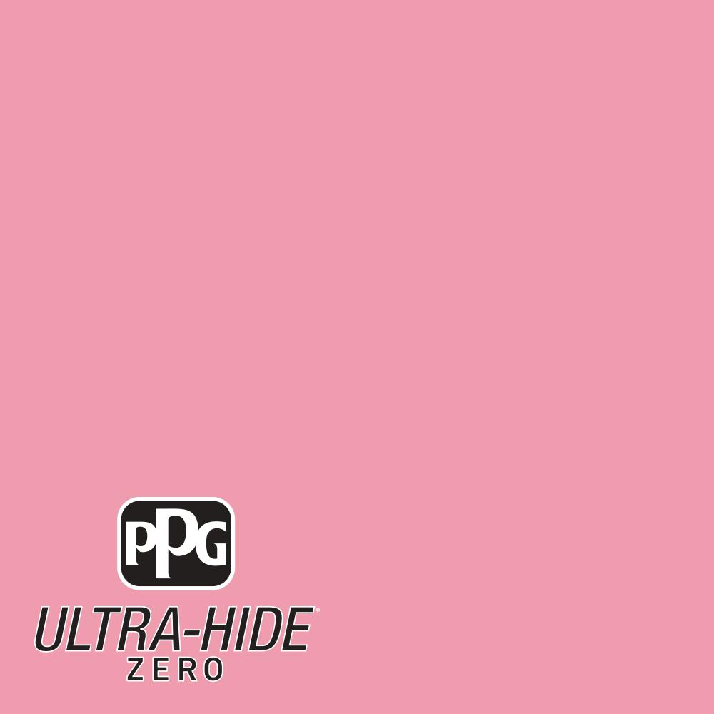 89b07c11620 PPG 1 gal.  HDPR15U Ultra-Hide Zero A Fun Little Pink Eggshell Interior