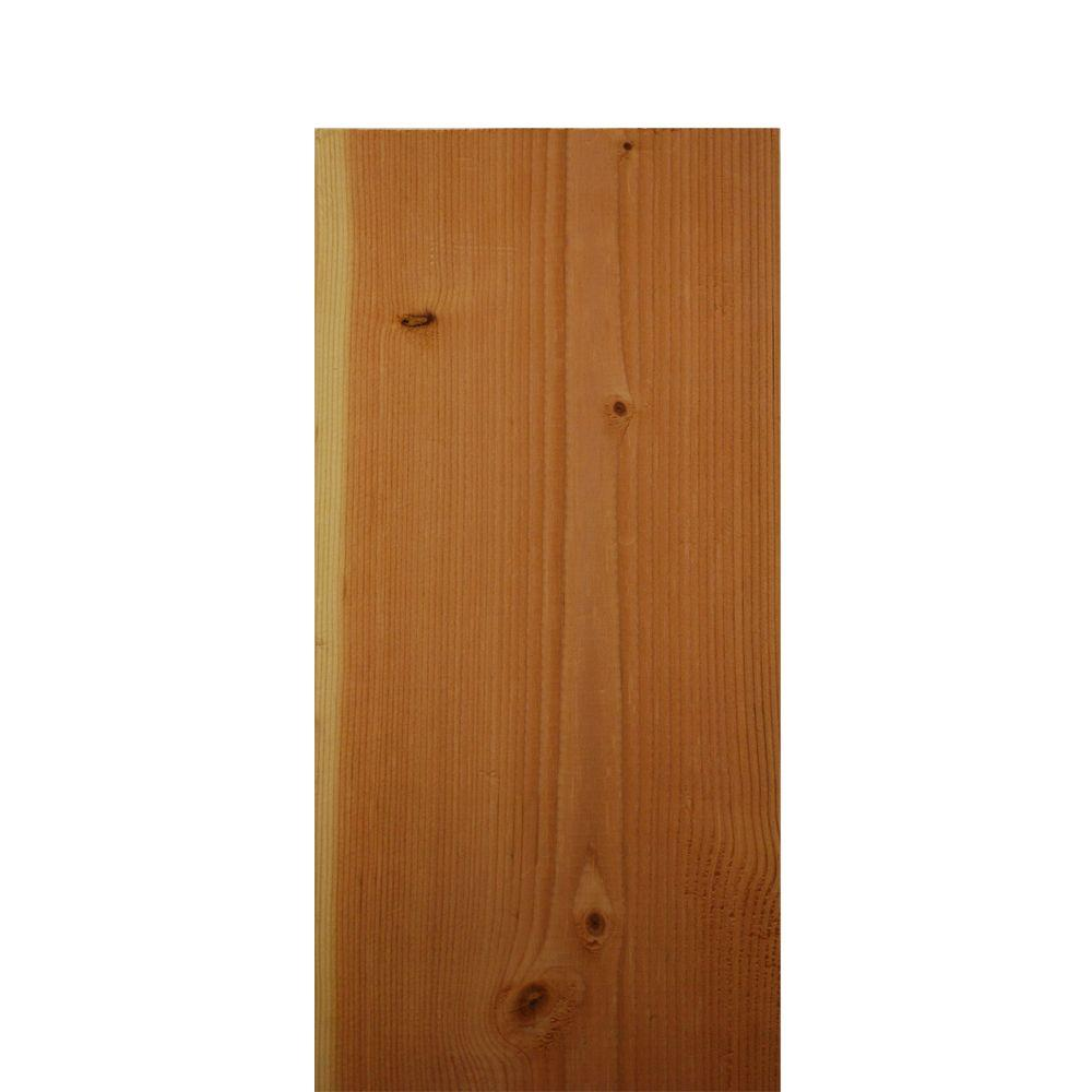 null 1 in. x 8 in. x 8 ft. Pine Common Board