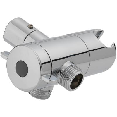 3-Way Diverter with Mount in Chrome