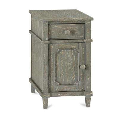 Sherwin Antique Taupe Side Table