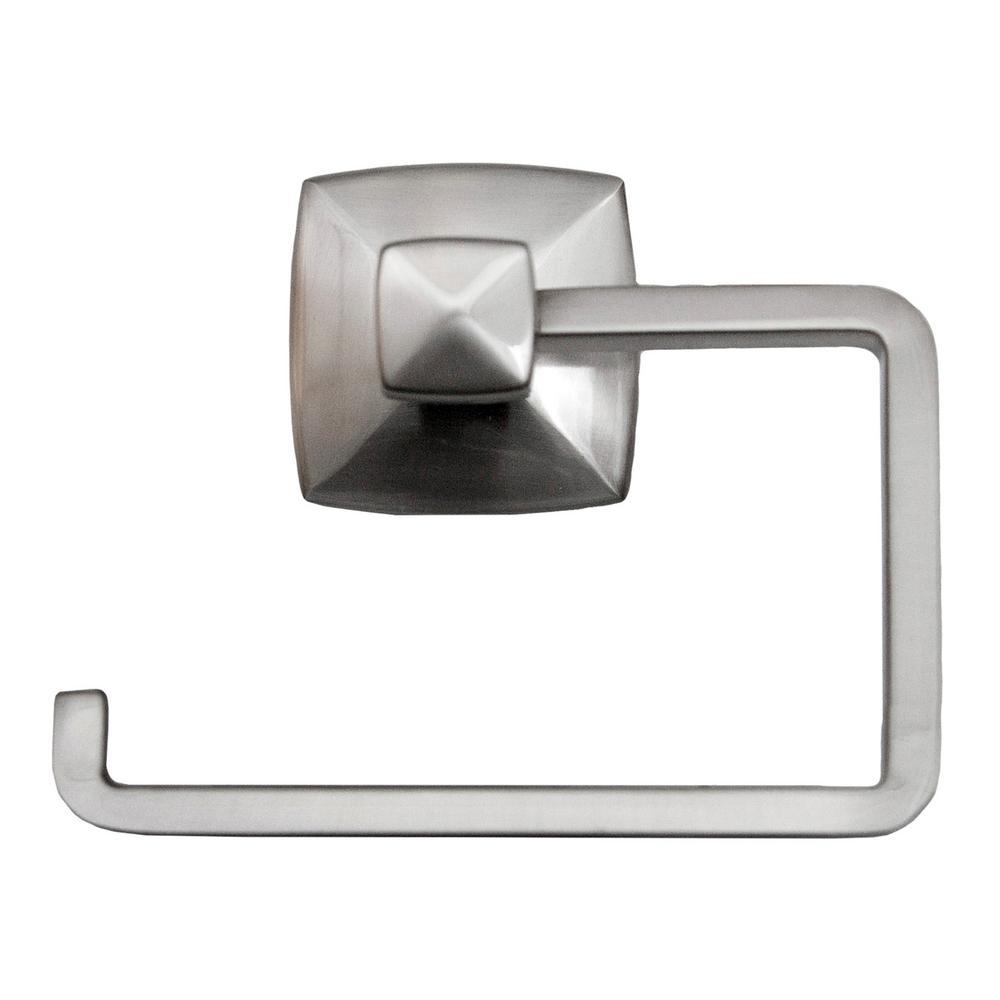 Perth Toilet Paper Holder in Satin Nickel