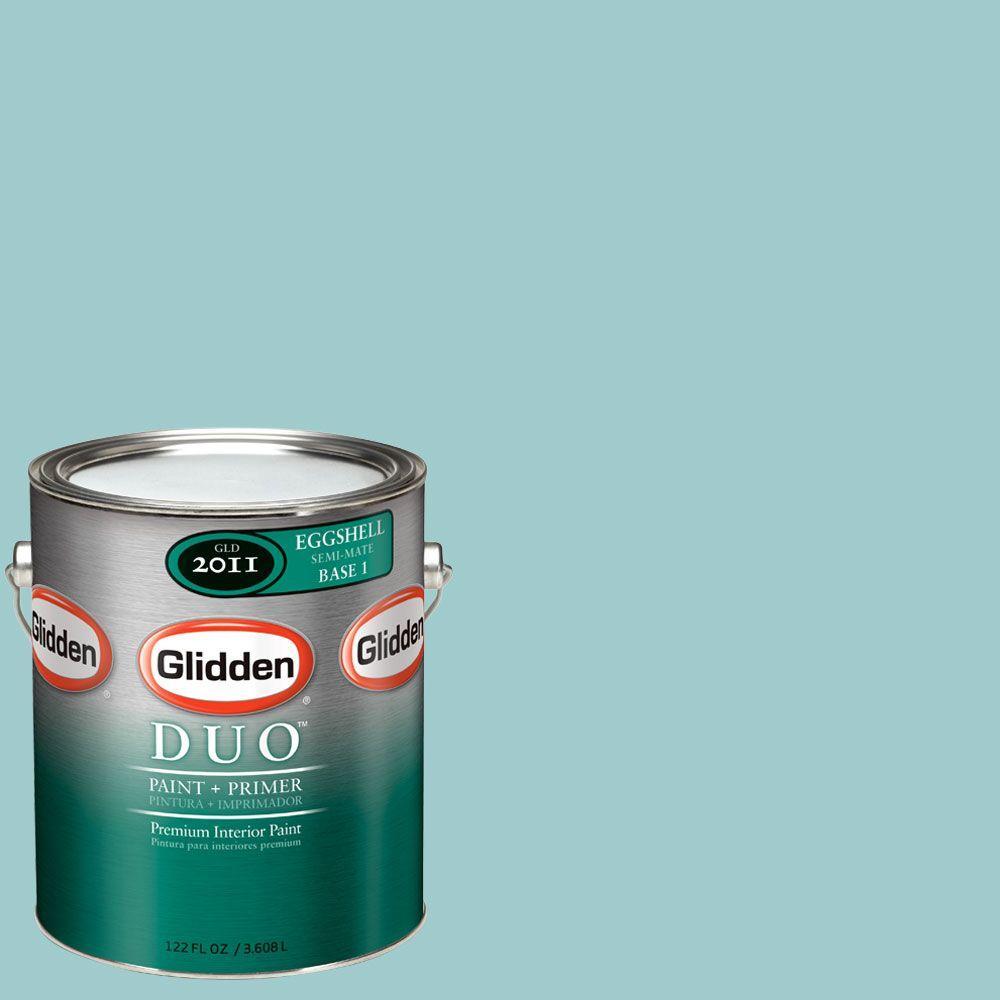 Glidden DUO Martha Stewart Living 1-gal. #MSL126-01E Sunken Pool Eggshell Interior Paint with Primer-DISCONTINUED