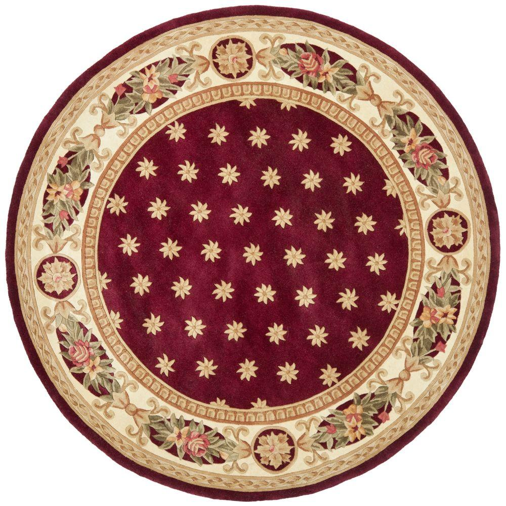 Safavieh Naples Assorted 4 ft. x 4 ft. Round Area Rug