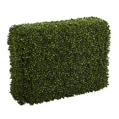 Indoor/Outdoor 41 in. Boxwood Artificial Hedge