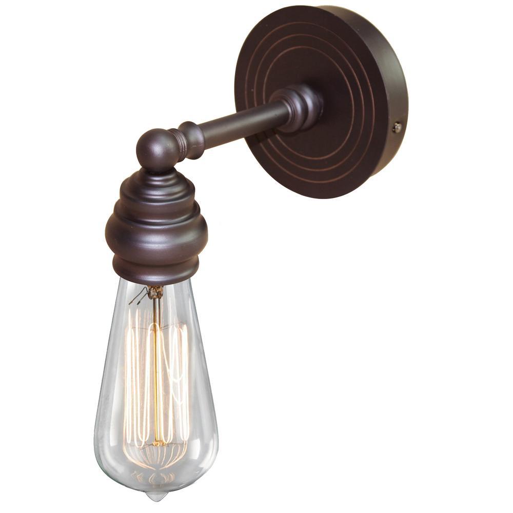 Tiffany 1-Light Oil-Rubbed Bronze Bath Light