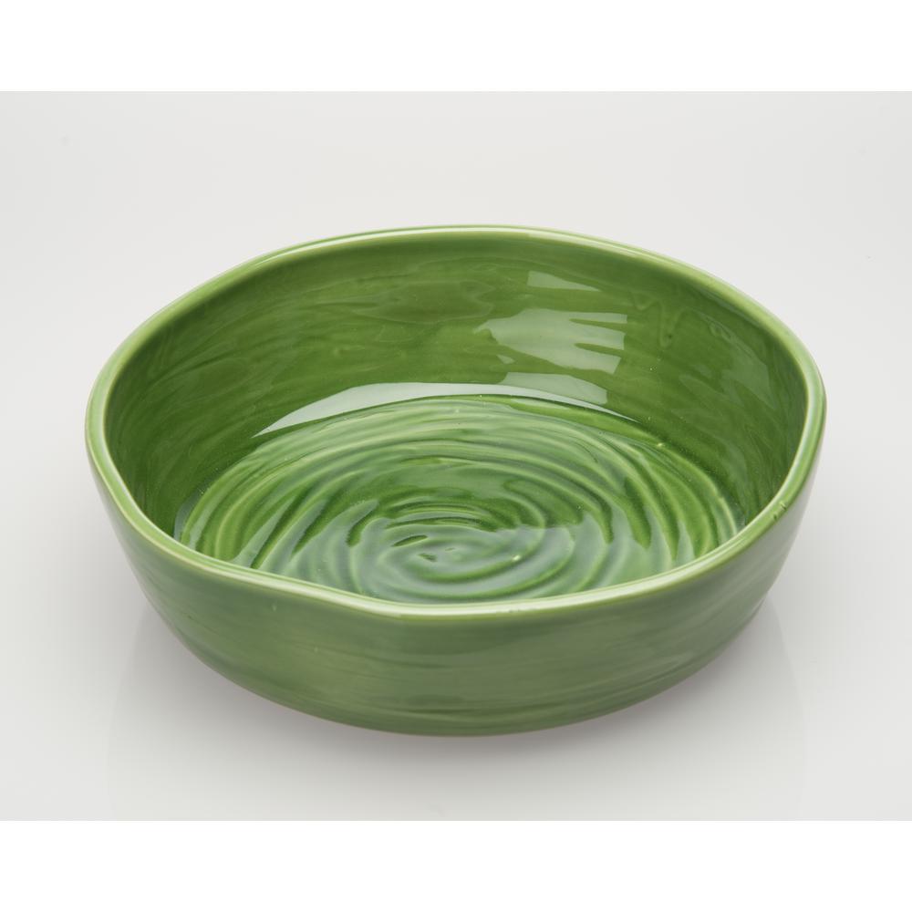 Le Moulin Green Large Bowl