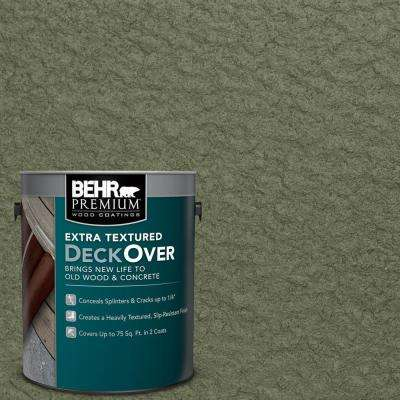 1 gal. #SC-138 Sagebrush Green Extra Textured Solid Color Exterior Wood and Concrete Coating