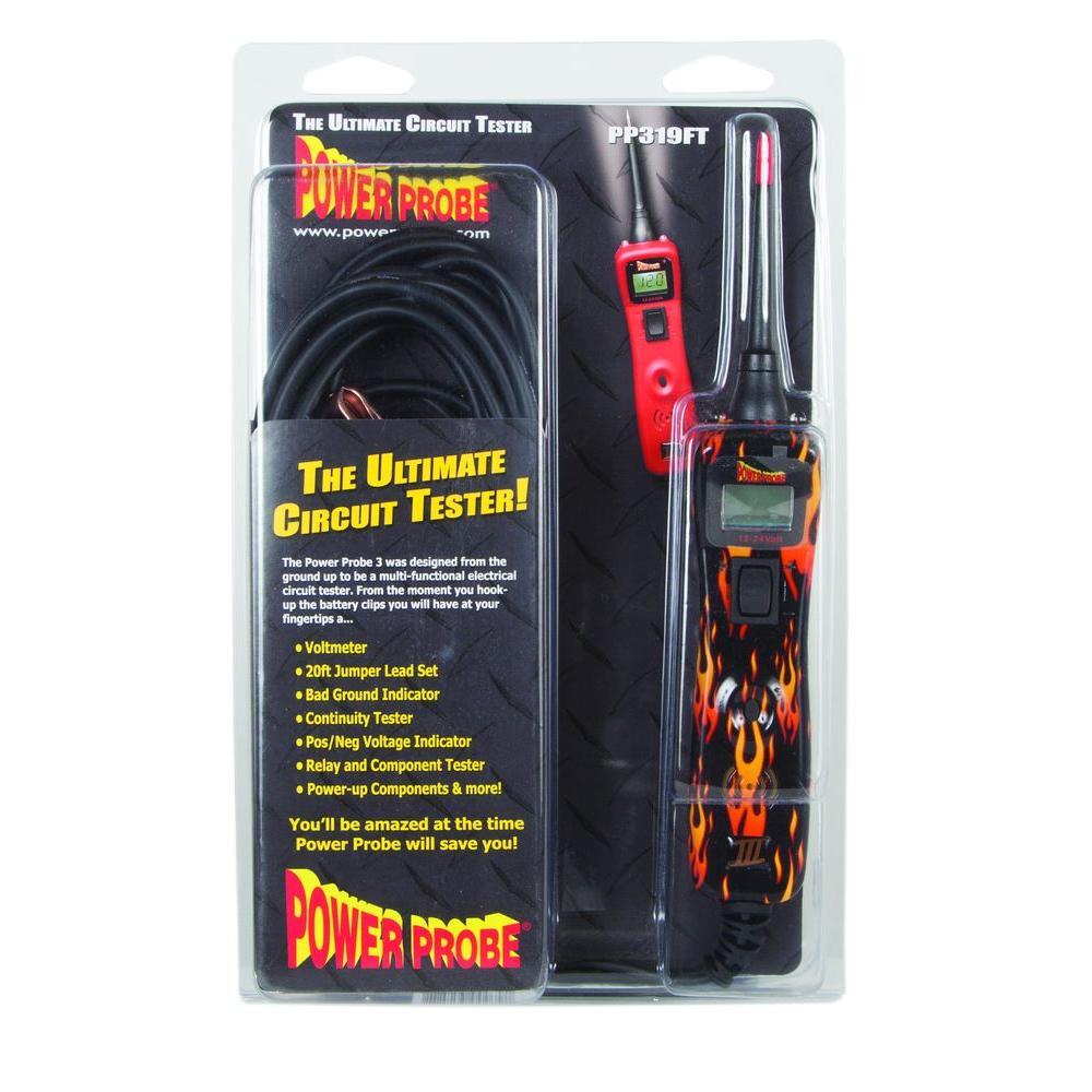 Power Probe Circuit Tester - Flame Print
