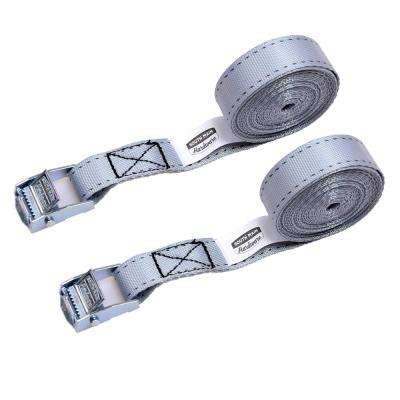 12 ft. x 1 in. Cam Buckled Straps (2-Pack)