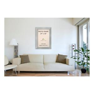 Amanti Art Romano 24 inch x 36 inch Silver Picture Frame by Amanti Art